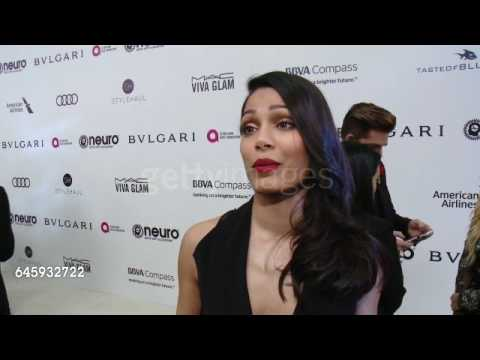 Freida Pinto at Elton John AIDS Foundation