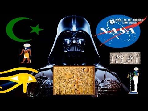 NASA's New Earth Exposed: Star Wars, ISLAM Moon Worship, Alien Propaganda,  & It's ORIGIN In EGYPT