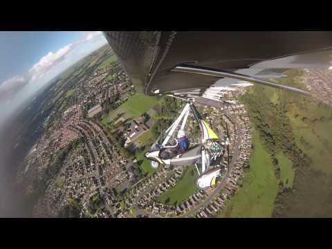 Winter Hill & Bolton by Flexwing Microlight 2/10/2016