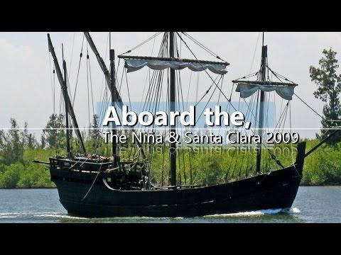 ⚓️Christopher Columbus' Niña & Santa Clara Visit St. Lucie, Florida HD | Sunnys Wildlife⚓️