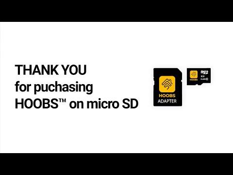 Setup HOOBS™ on microSD
