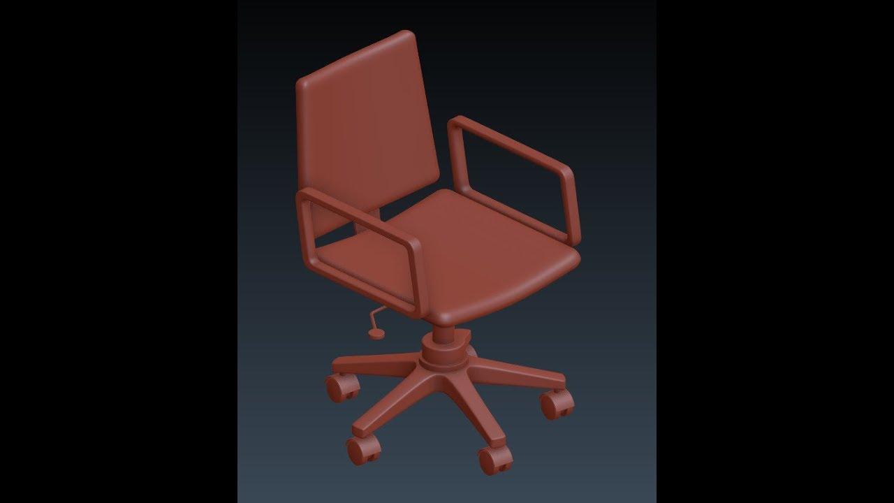 Blender Modeling An Office Chair Youtube
