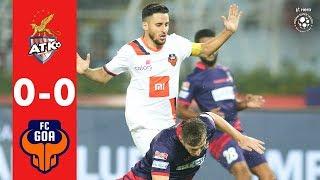 Hero ISL 2018-19 | ATK 0-0  FC Goa | Highlights