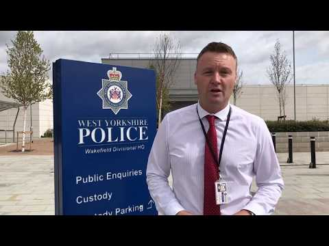 Detective Inspector Dave Watts talks about Wakefield's New Burglary Operation
