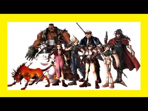 Final Fantasy 7- Le Film Complet En Français Version Néo-Midgar (FilmGame)
