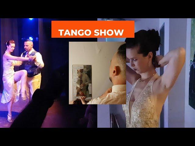 Bello baile Tango Vals Antonela Méndez, Raúl Moure, Orquesta tango en vivo Fonola y Jukebox,  URDA