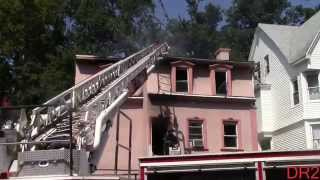 East Orange Fire Department Working Fire 61 N Grove St 8-14-15