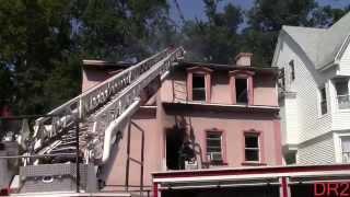 East Orange Fire Department Working Fire 61 N Grove St 8-14-15