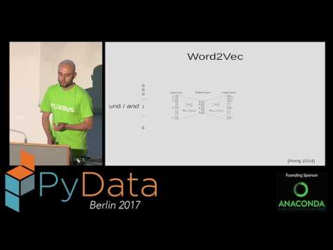 Robert Meyer - Analysing user comments with Doc2Vec and Machine Learning classification