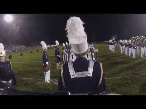 Grand Ledge High School Marching Band - Oct. 24, 2014