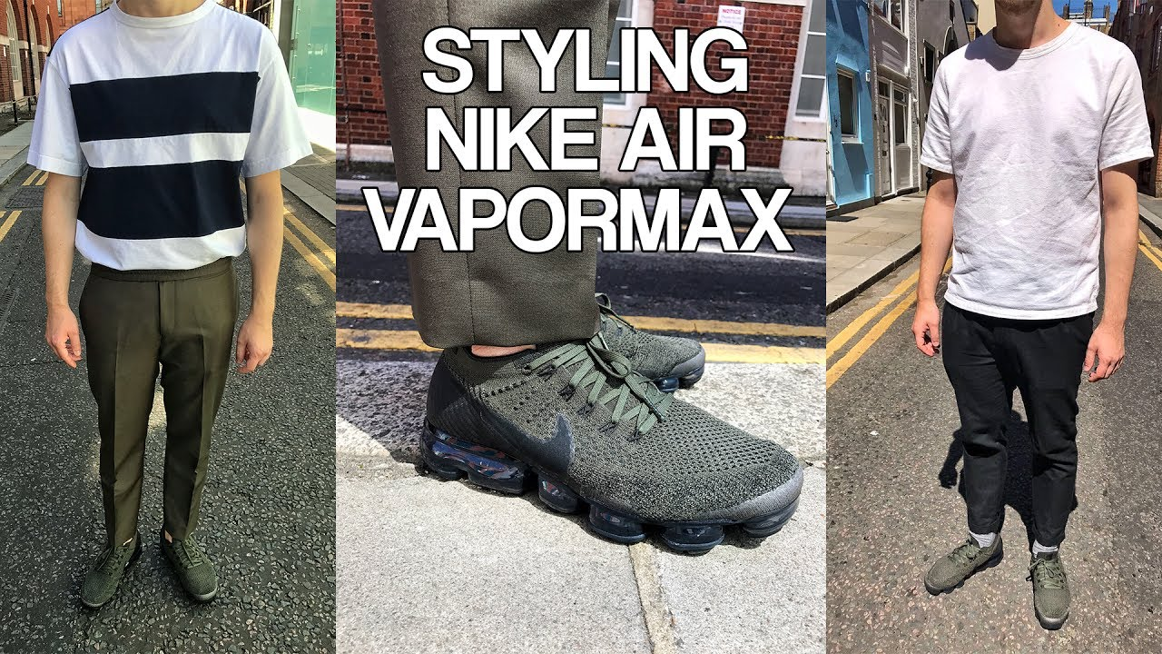 what to wear with vapormax