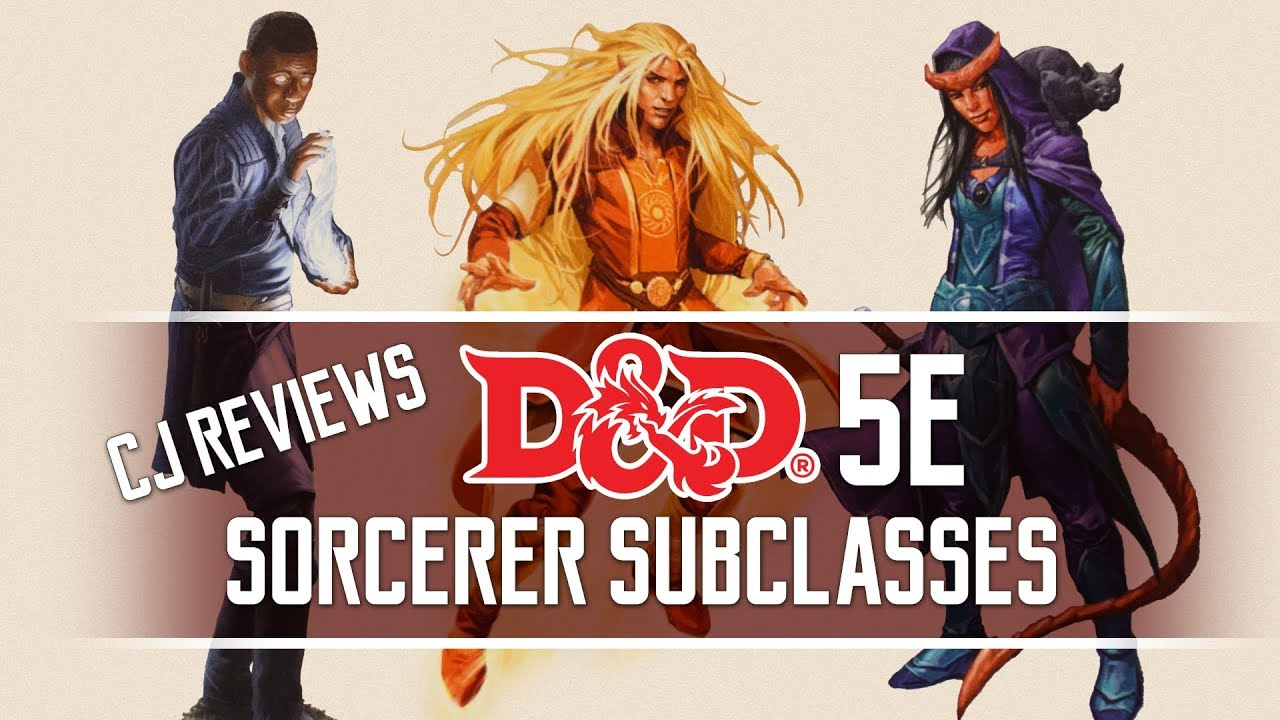 Storm, Divine Soul & Shadow Magic Dungeons and Dragons 5e Sorcerer Subclass  Review