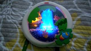 Fisher Price Rain Forest Lights & Sounds Baby Crib Sleep Toy Mobile