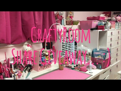 CraftyRoom Share Giveaway... =)***CLOSED***