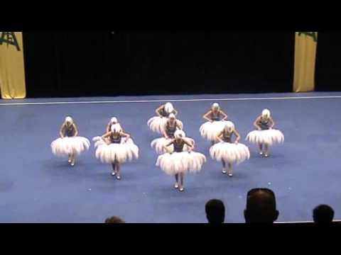 Black Diamond Senior Drill Dance Prop Precision 2011 Australian Champions