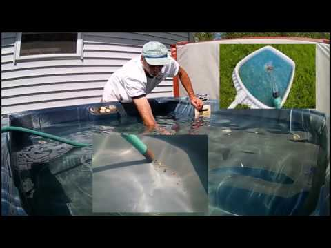 Quickly Remove Dirt From hot-tub, Jacuzzi or spa