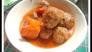 Fish Balls Stew -african Food Recipe