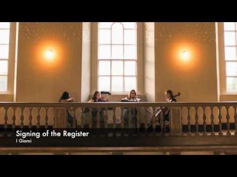 Contemporary/Pop Wedding Ideas - Camilli String Quartet
