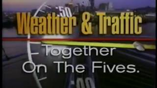 WLWT 1998 - Weather and Traffic Together on the 5 News Promo - Cincinnati 90s