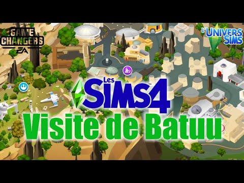 VISITE DE BATUU ! - Les Sims 4: Voyages sur Batuu