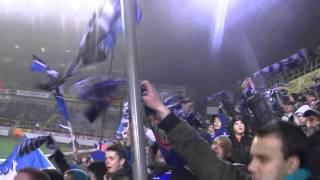 BFU sfeer einde Club Brugge - Lokeren