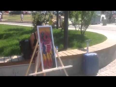 Картины африканских художников в Москве