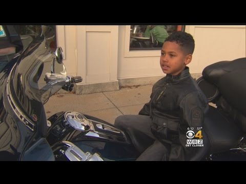 Motorcycle Club Rallies Around Boy Targeted By Hate Crimes