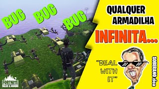 SUPER EASY BUG-Any INFINITE trap-Fortnite Save the World