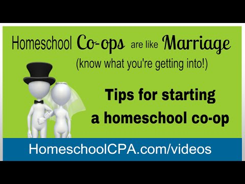 Tips for starting a homeschool co-op