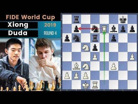 Hacking Skills! - Xiong vs Duda | Fide World Cup 2019