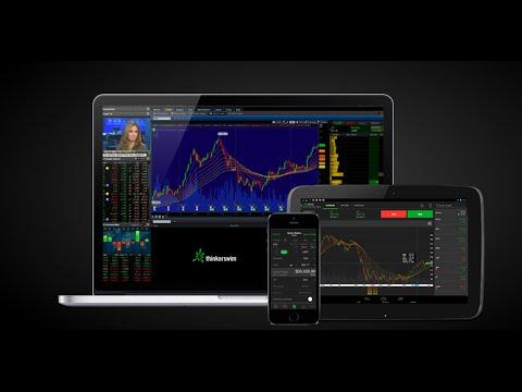 Thinkorswim free trading platform