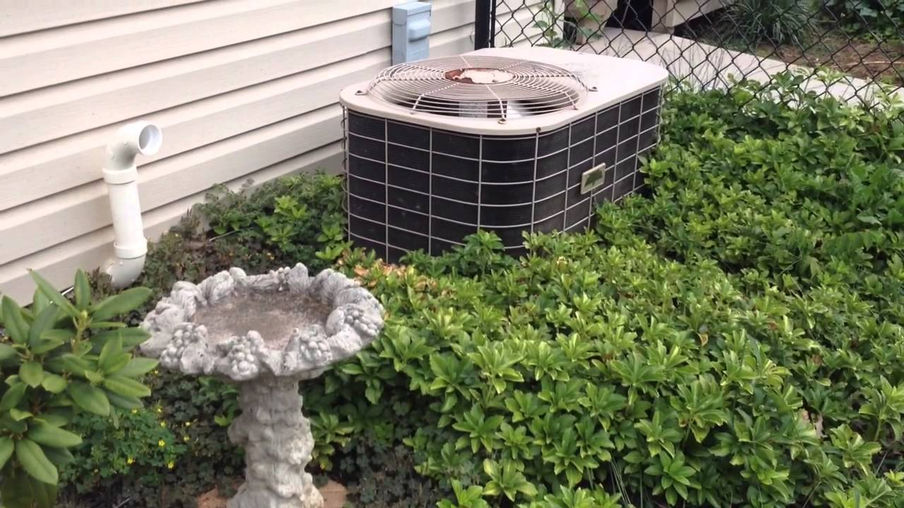1990s Coleman Evcon Air Conditioner 8 22 14 Youtube