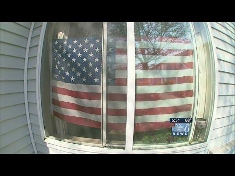 Patriotic Grandma Wins Fight Over American Flag