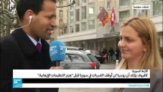 """الأزمة السورية: دي مستورا يحذر من """"إنهيار"""" محادثات جنيف 3"""