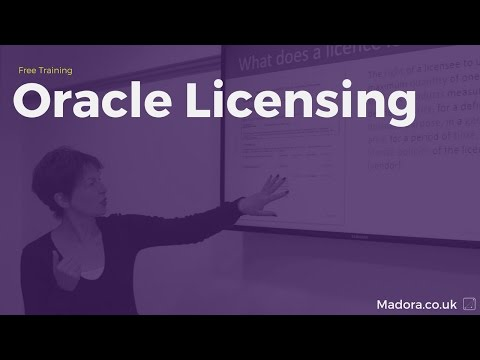 Oracle Licensing for 2017