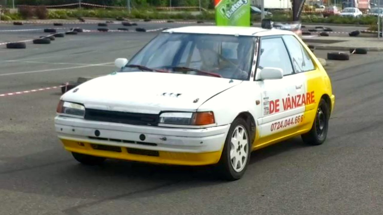 Mazda 323 Maximum Rally Sprint Oradea 2016 18 09 Driver Uram Andrei