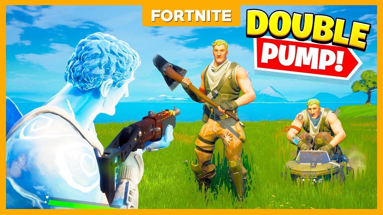 DOUBLE PUMP IS TERUG in SEASON 5!! - Fortnite