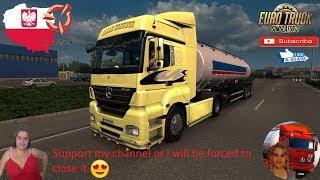Euro Truck Simulator 2 (1.36)   Mercedes Benz Axor with original OM 457 LA engine sound New Tanque Randon Linha R 2017 Ownable Trailer Poland Detail Addon Naturalux Graphics and Weather + DLC's & Mods https://sharemods.com/2xdd1z6cjqhh/MercedesAxor1.36.zi
