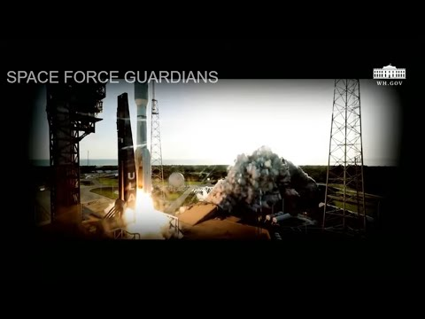 Vice President Pence & Senior Defense Leaders Commemorate 1st Birthday of U.S. Space Force Guard