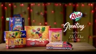 Real fruit Power - Healthy Juices by Real Fruit Power - Diwali Greetings 2016