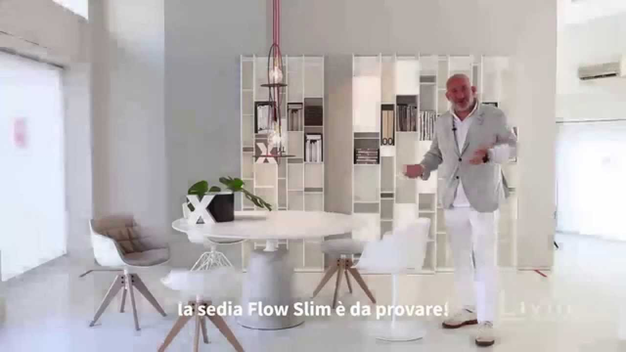 mdf italia flow slim chairs youtube. Black Bedroom Furniture Sets. Home Design Ideas
