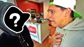 SOMEONE BROKE INTO OUR HOME!!