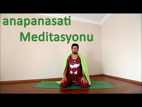 anapanasati Meditasyonu
