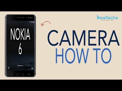 Nokia 6  How to use the Camera and Slow Motion Video Camera