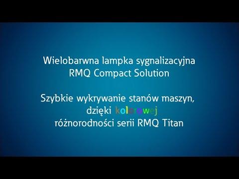 MCI RMQ - wielobarwna kompaktowa lampka sygnalizacyjna