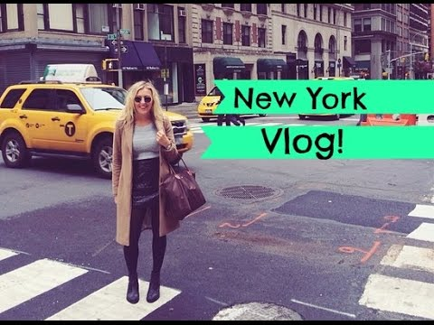 New York Vlog! Times Square, Central Park, NYC Shopping, The Rockafeller & More! | EmTalks