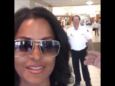 RHOA's CLAUDIA JORDAN and GINUWINE Kicked Out An Alabama Mall for Wearing Sunglasses? [VIDEOS]