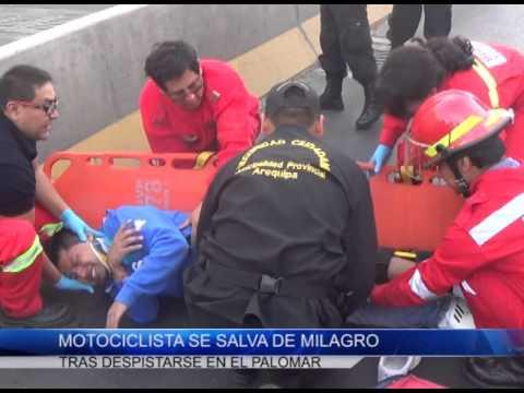 SE REGISTRARON ACCIDENTES DE TRÁNSITO EN LA AV. VENEZUELA Y LA VARIANTE DE UCHUMAYO