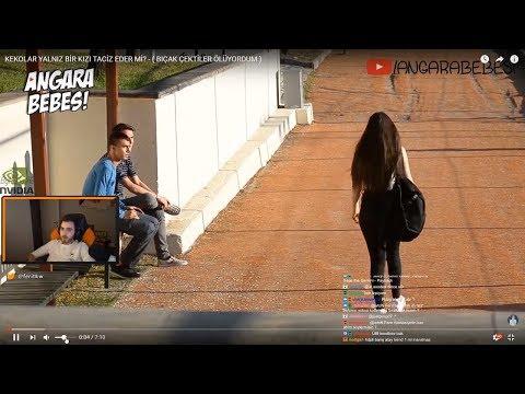 Ferit wtcN – Angara Bebesi ''Kekolar Yalnız Bir Kızı Taciz Eder Mi?'' İzliyor