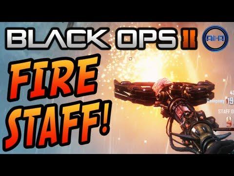 """FIRE STAFF!"" - ORIGINS Zombies! ""HOW TO BUILD"" TUTORIAL! (Black Ops 2 Apocalypse Gameplay)"